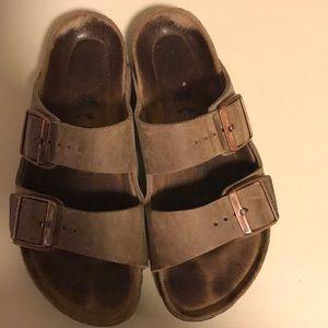 Genuine leather Birkenstock's